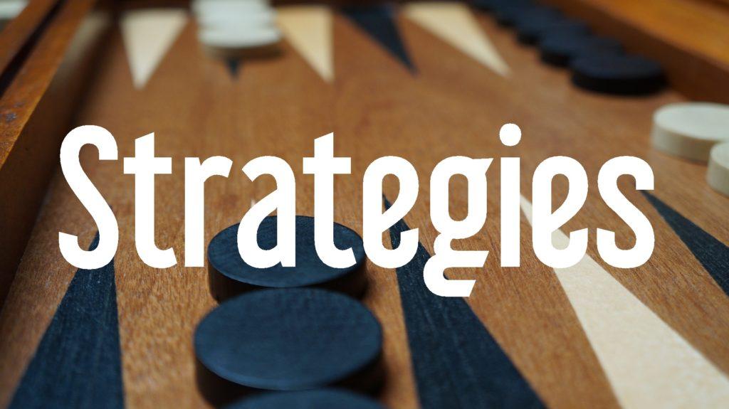 strategies button