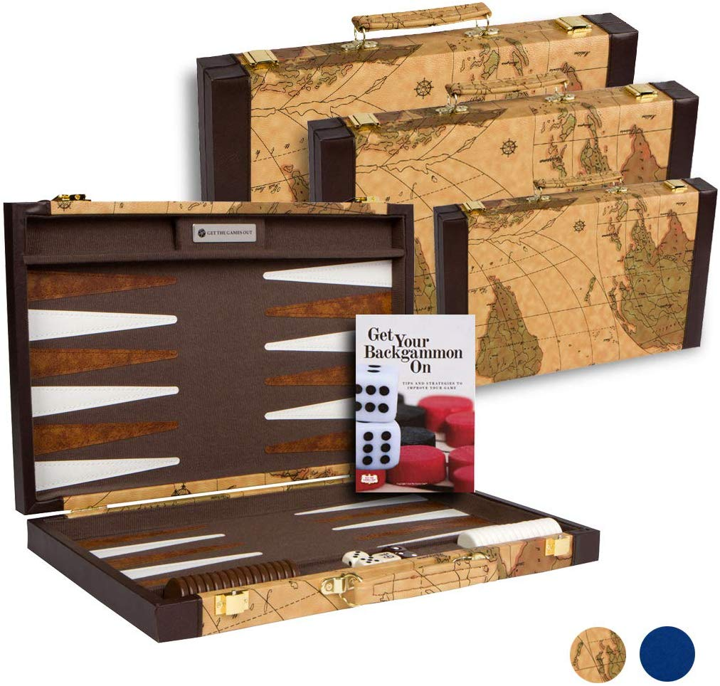 Get The Games Out Top Backgammon Set image