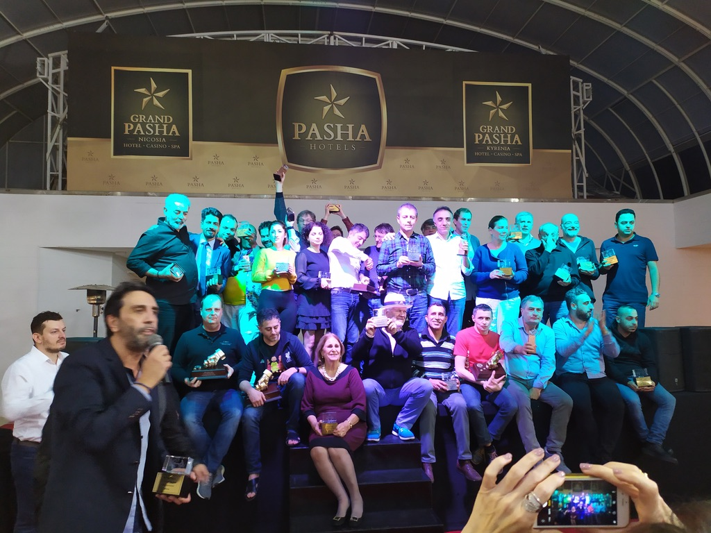 18th Cyprus Open Backgammon Tournament Award Ceremony