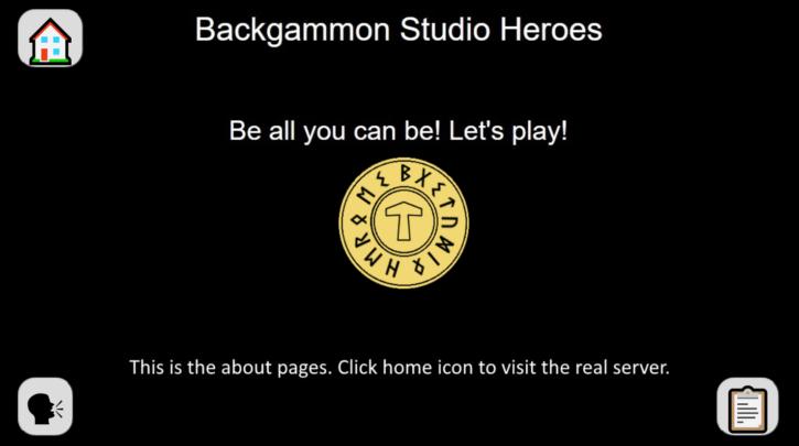 backgammon studio heroes homepage